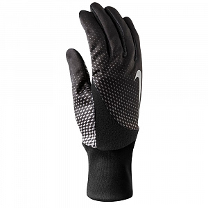 Nike Mens Printed Element Thermal Run Gloves 2.0